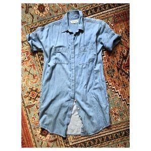 Madewell Chambray Shirtdress Sz S